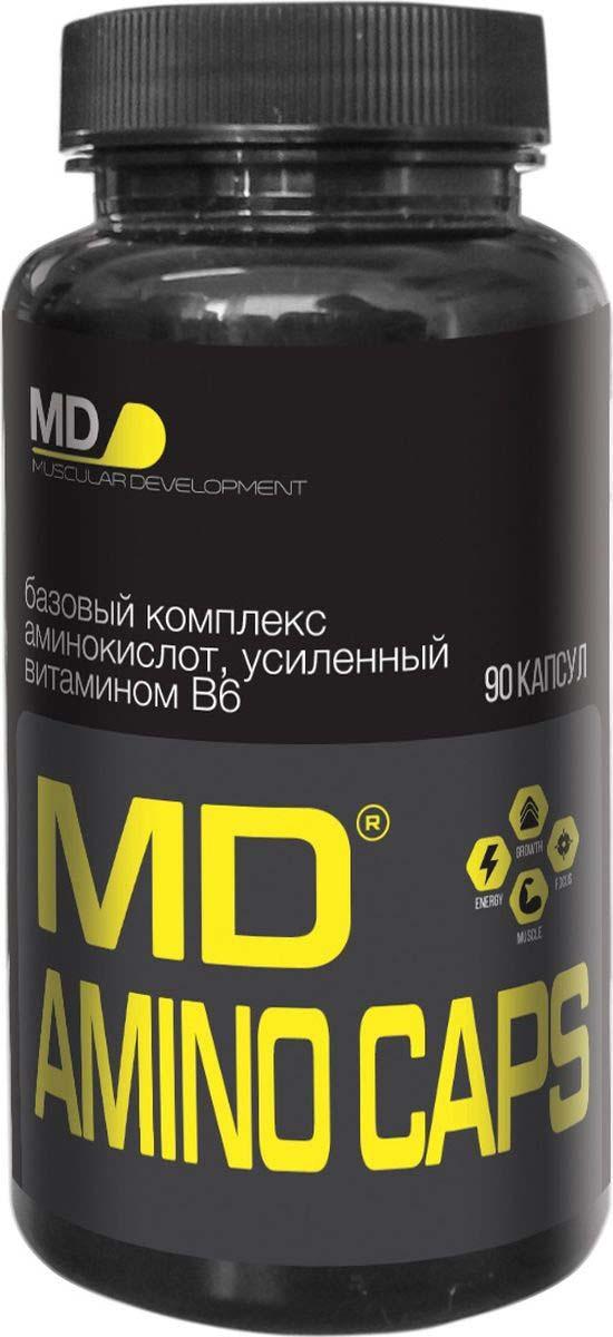 Аминокислотный комплекс MD Aminoсaps, 90 капсул night amino