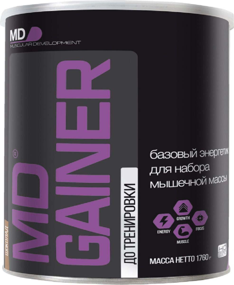 Гейнер MD Gainer, шоколад, 1,76 кг