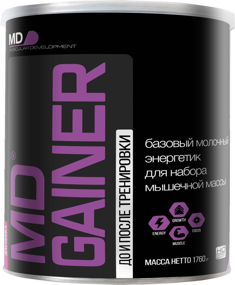 Гейнер MD Gainer, земляника, 1,76 кг