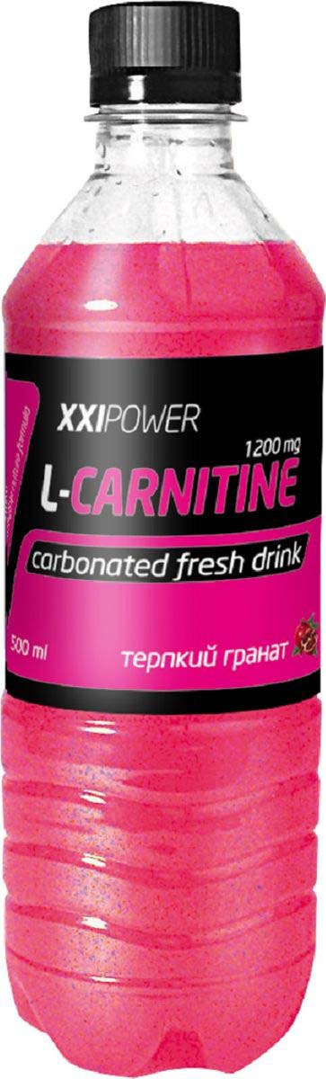 Напиток XXI Power L-Карнитин , терпкий гранат, 500 мл4650069822738XXI Power L-Карнитин – это напиток, обогащённый витаминами, минеральными солями и L-карнитином. Незаменим при любой интенсивной физической нагрузке. Эффективно восполняет самые необходимые организму вещества, вымываемые вместе с потом во время тренировки. Состав: Вода подготовленная, регуляторы кислотности лимонная и яблочные кислоты, ароматизатор, L-карнитин, консерванты, сорбат калия и бензоат натрия, краситель азурубин, подсластитель сукралоза, стабилизатор танин, магний углекислый легкий, Витамин В6
