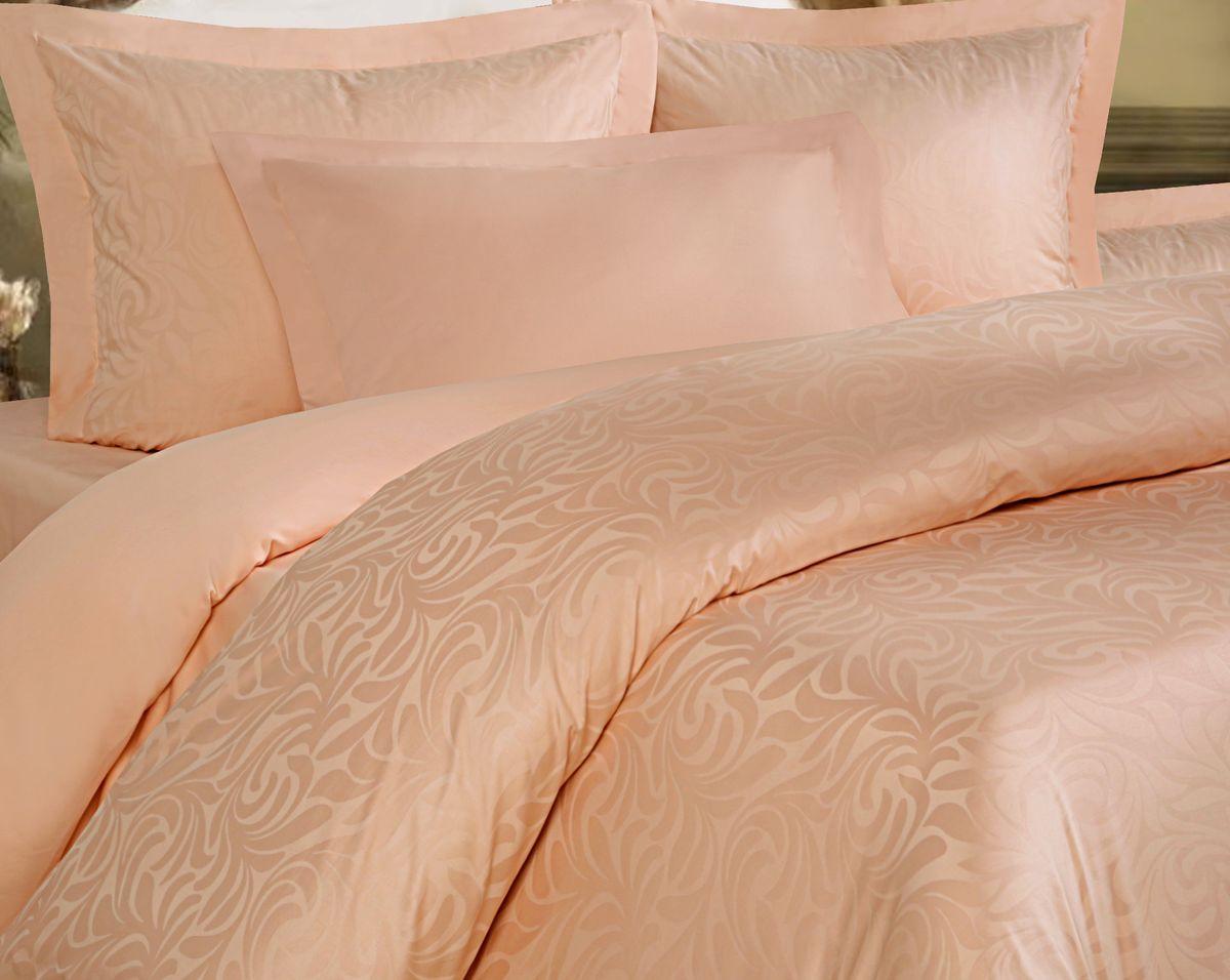 Комплект постельного белья Mona Liza Royal Волна, 5439/10, евро, наволочки 70х70, 50х70 постельное белье mona liza 5 спальное бабочки розовый