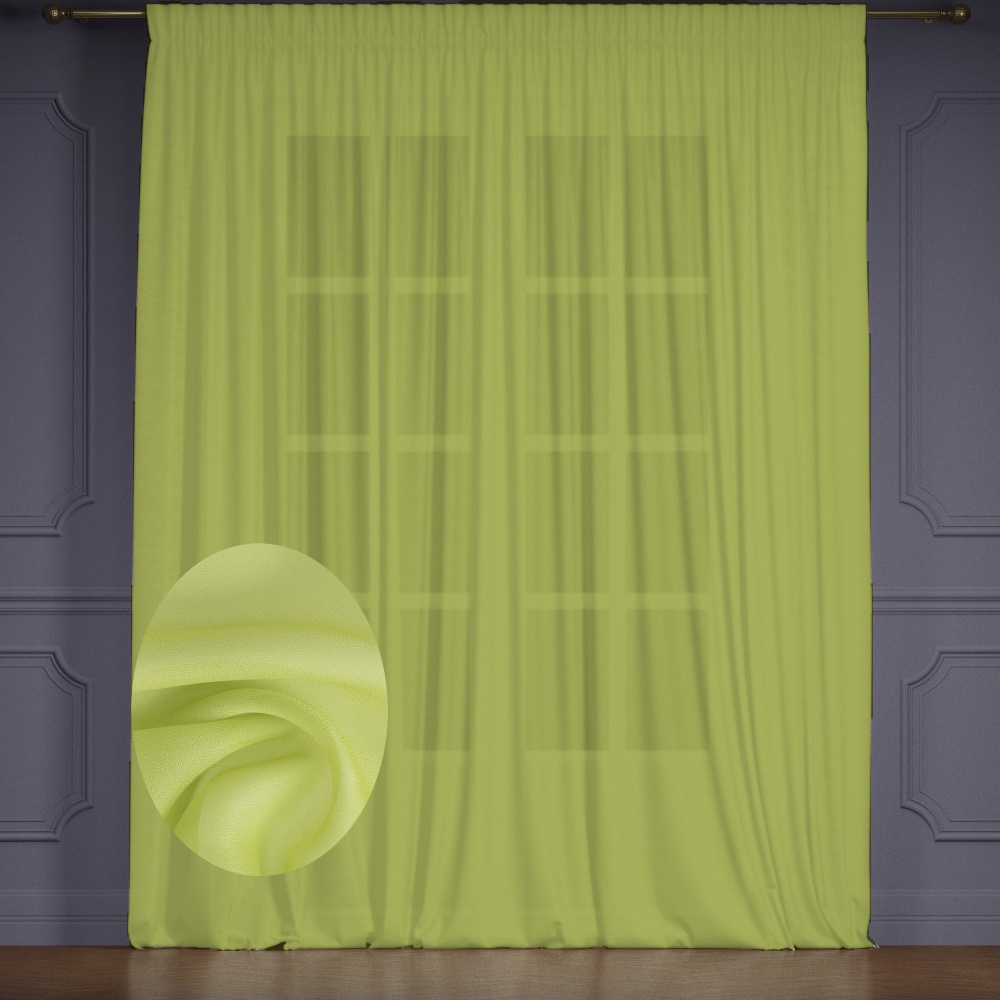Тюль Tricotika Премиум вуаль 400*280см. цена и фото