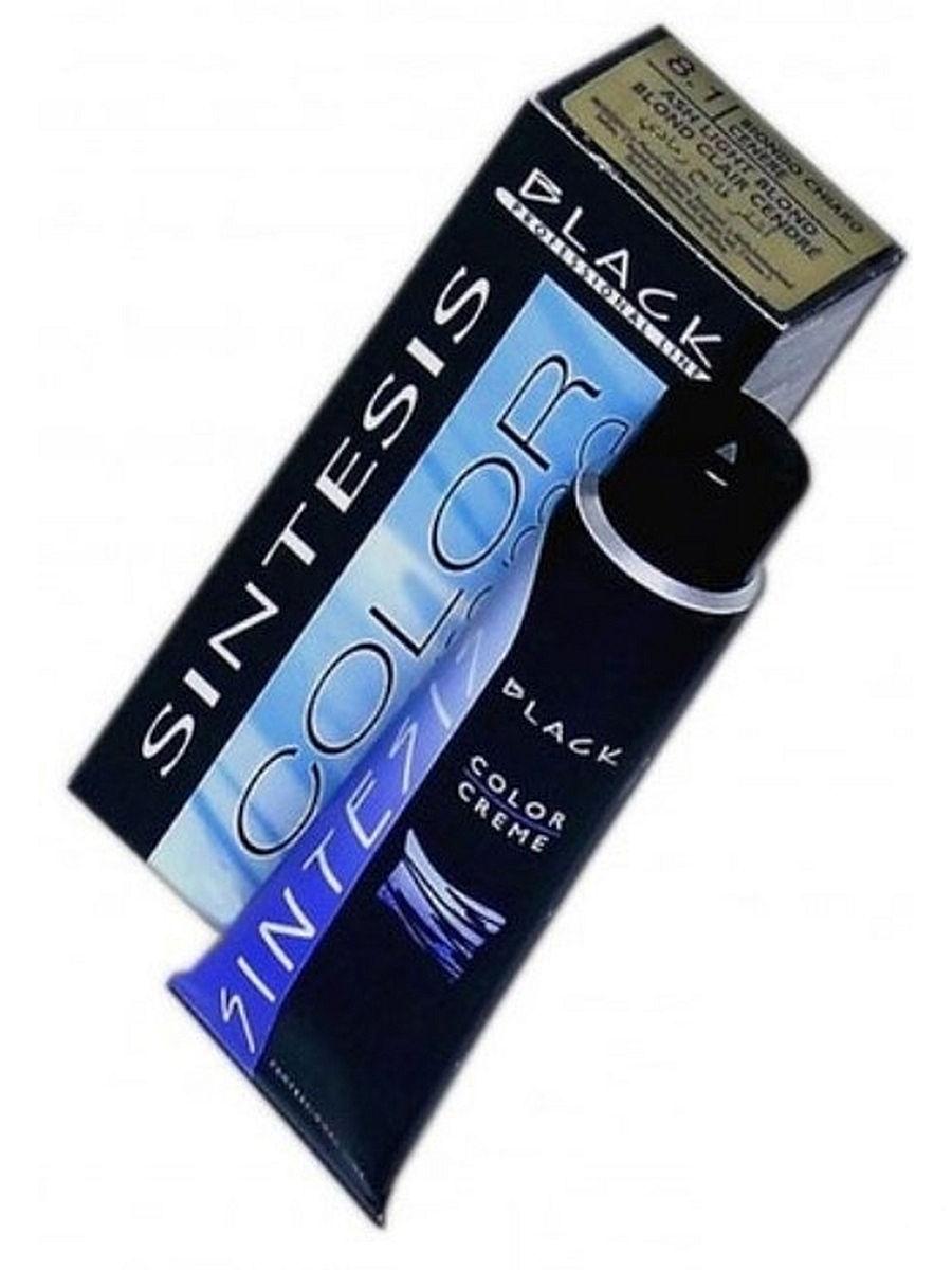 Краска для волос Средний блондин медно-золотистый Black Professional Line BLK150070 COLOR-CREAM SINTESIS № 7.03