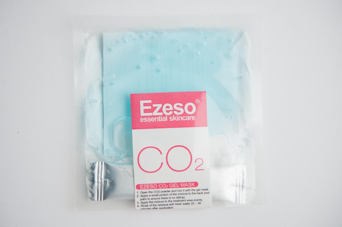 Порошковая маска для карбокситерапии Ezeso CO2 Oxygen Injection Resurgence Face Mask, 30 г 4ol oxygen 0 30