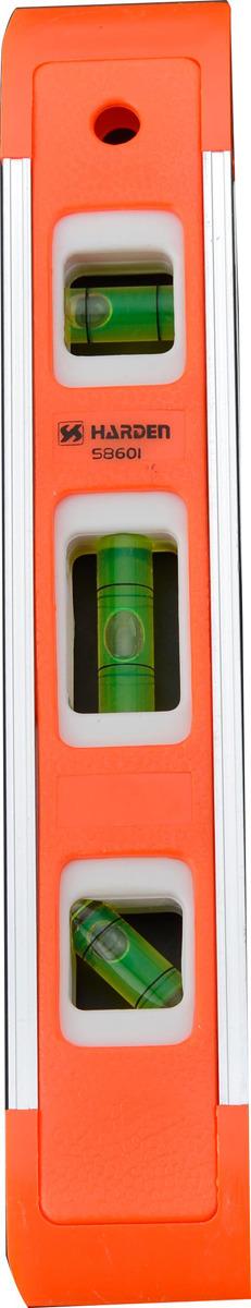 """Уровень магнитный Harden """"Торпедо"""", 580521, 3 глазка, 2,28 м"""