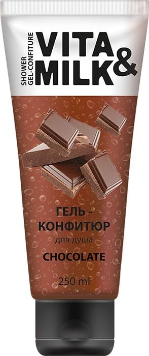Гель для душа Vita&Milk Шоколад, 4220