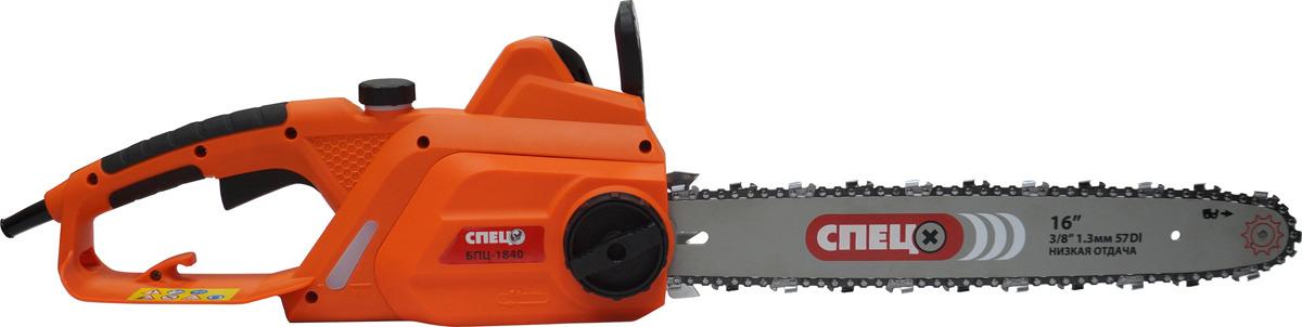 цена на Цепная электропила Спец БПЦ-1840 СПЕЦ-1542, оранжевый
