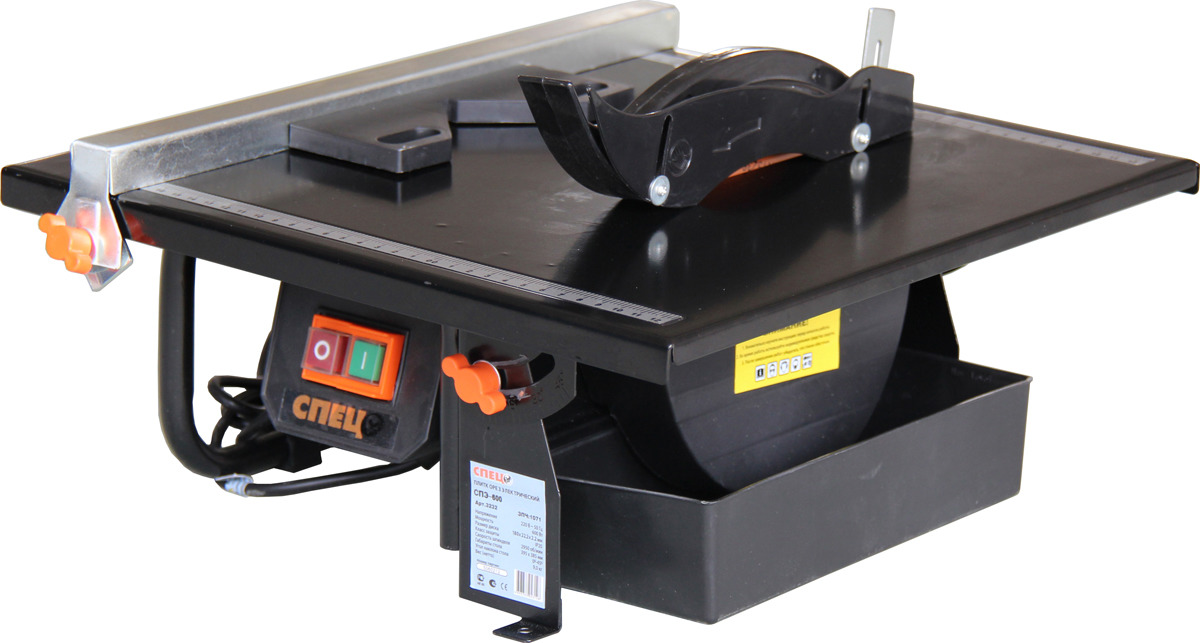 Плиткорез Спец СПЭ-600 СПЕЦ-3232, черный цена