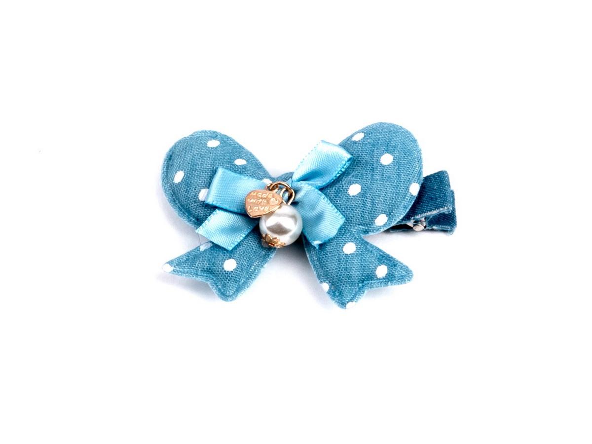 Фото - Зажим для волос TAIS CH-04-4, CH-04-4 Зажим сердце голоб.горох, голубой harizma зажим для волос super strong 4 штуки h10904