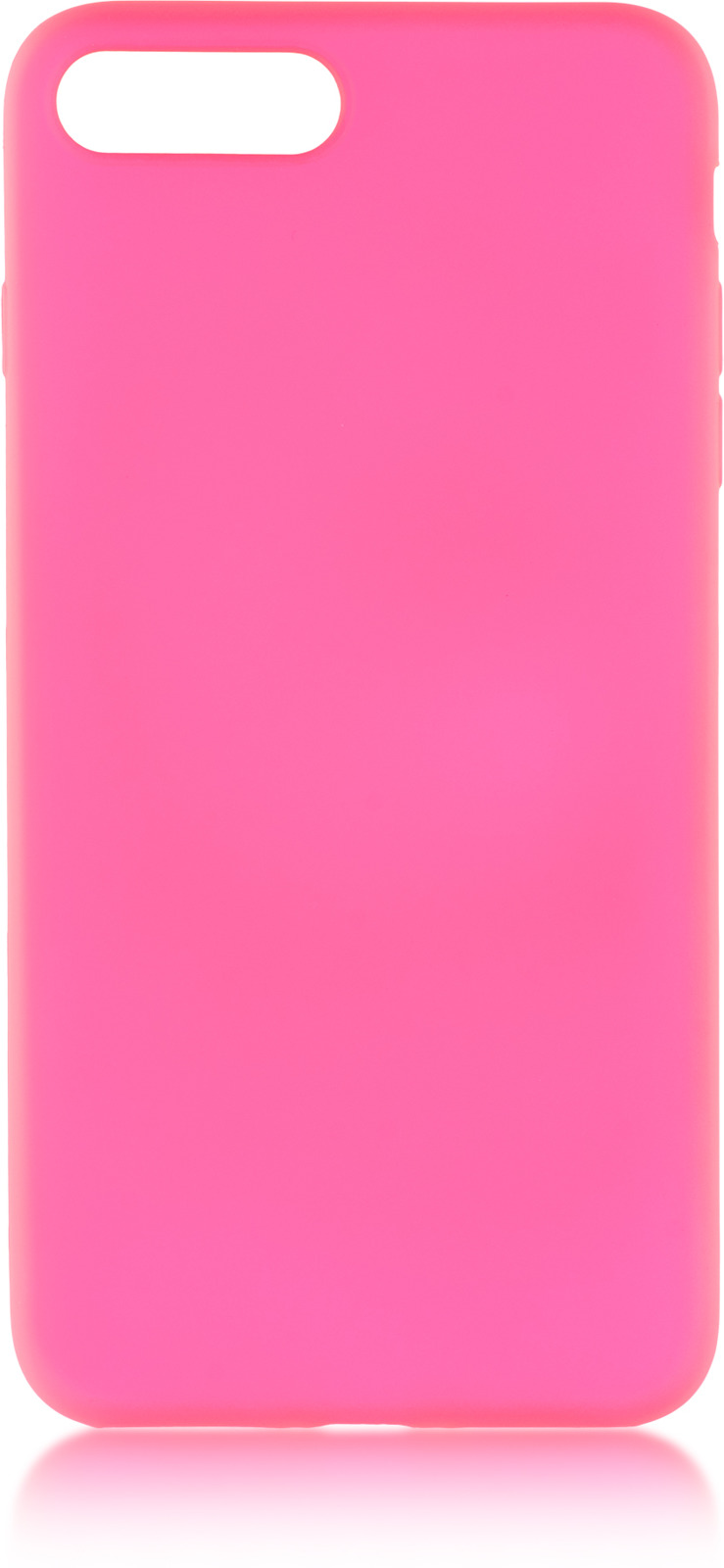 Чехол Brosco Colourful для Apple iPhone 8 Plus, розовый
