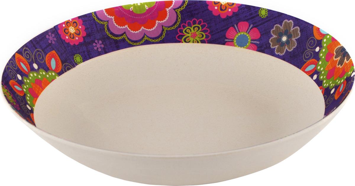 Тарелка глубокая Fissman Purpur, 8961, диаметр 22 см