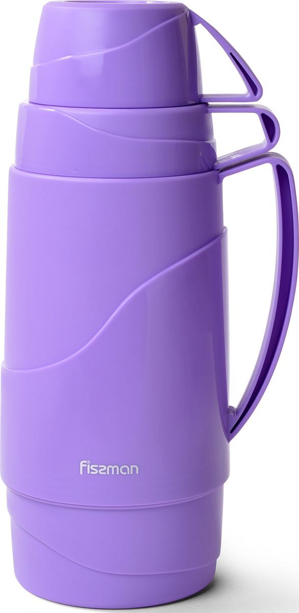 Термос Fissman, 9792, фиолетовый, 1 л