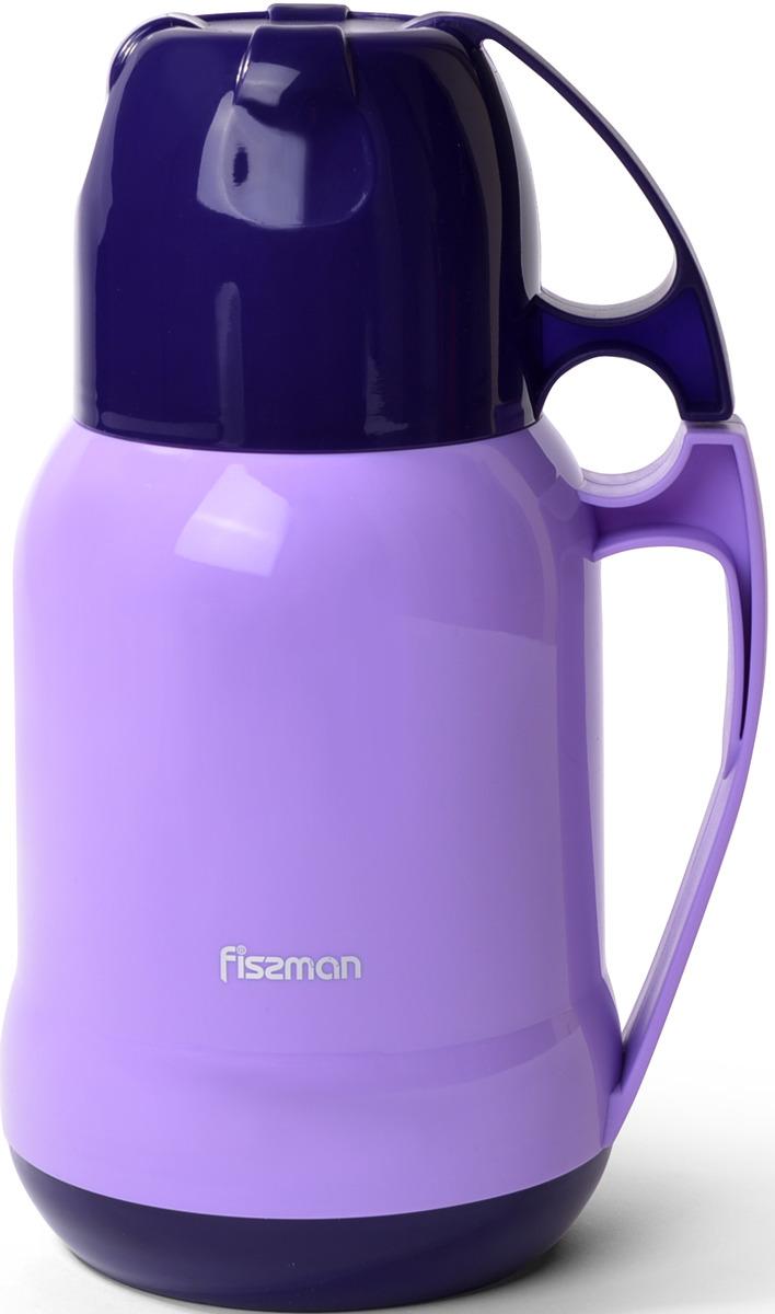 Термос Fissman, 9793, фиолетовый, 1 л