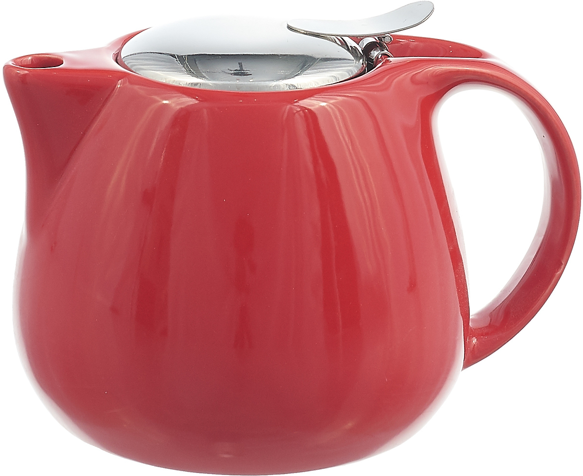 Заварочный чайник Loraine, 26597, красный, 750 мл заварочный чайник loraine цвет красный 750 мл 26597 3