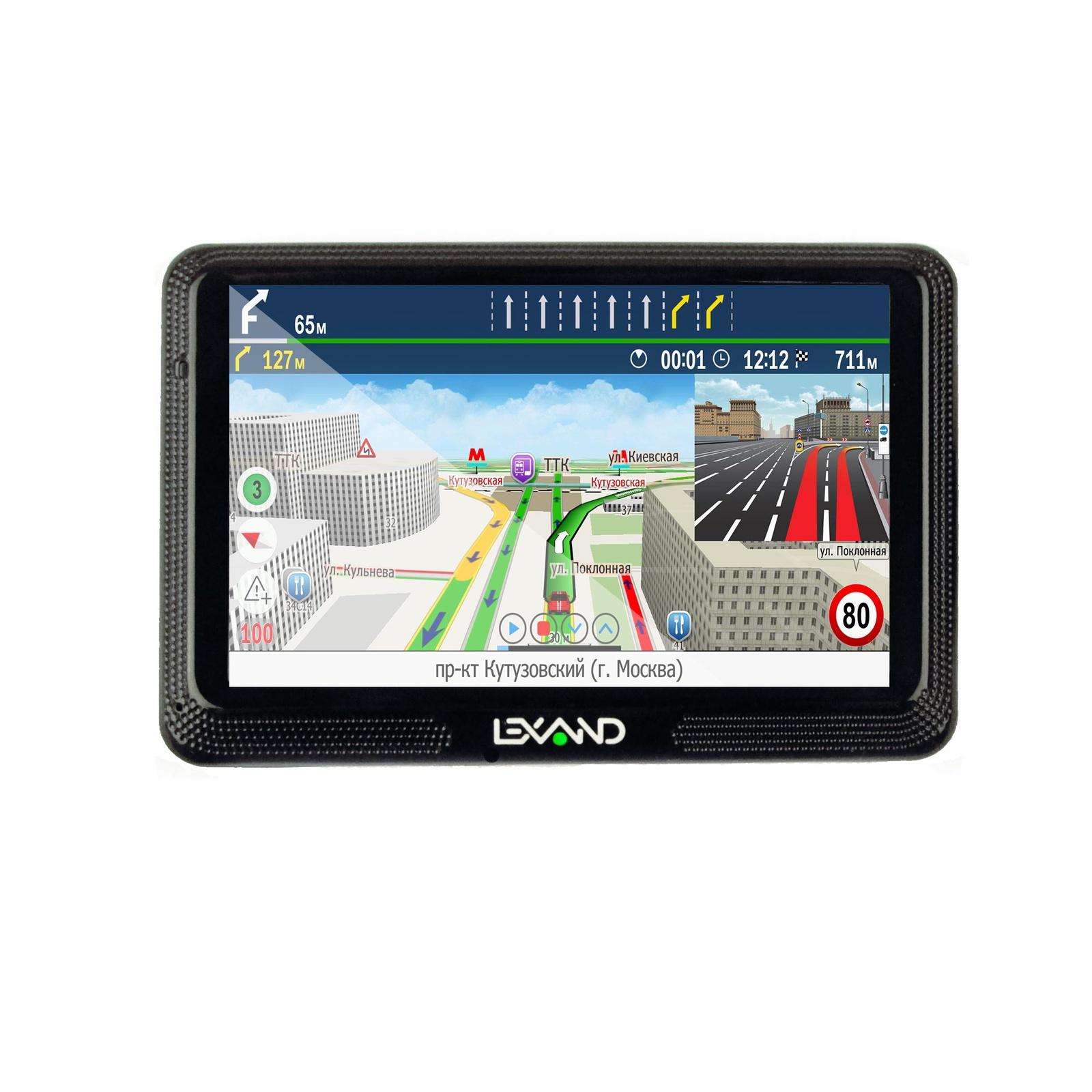 Навигатор GPS LEXAND CD5 HD Lexand Прогород (Россия+60 стран)