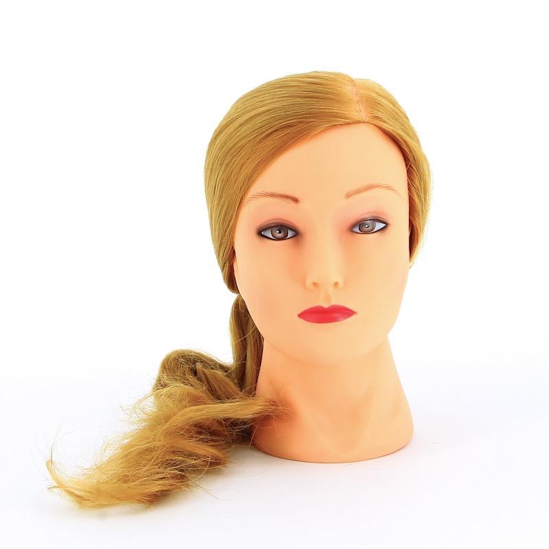 Голова для манекена Dewal блондинка, протеиновые волосы