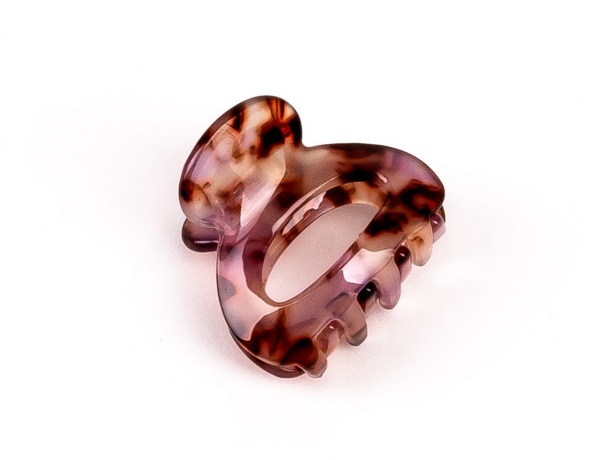 Заколка-краб TAIS FDF01255-4, FDF01255-4 Заколка-краб, розовый заколка hairagami хеагами одинарная цвет черный розовый