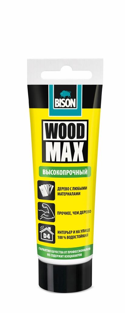 цена на Монтажный клей Bison Wood Max Tub 100g, 6312868