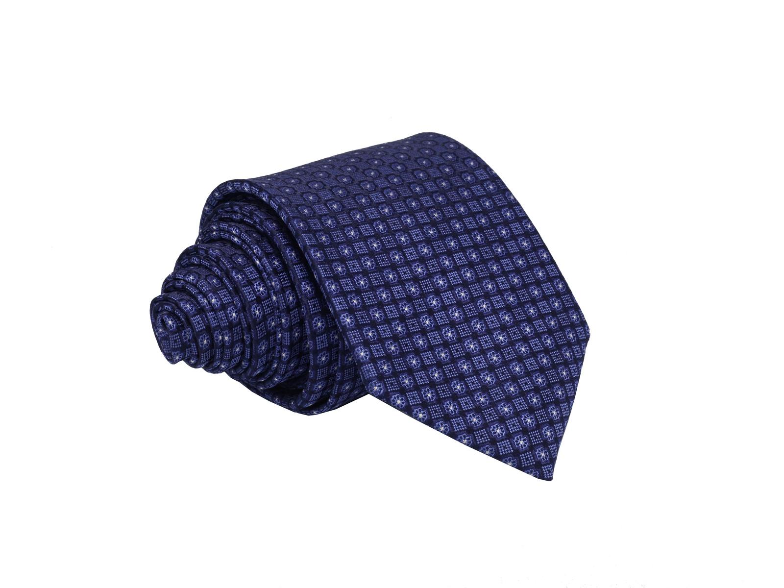 Галстук WEBERMANN, темно-синий универсальный размерW81511188Галстук мужской шириной 8 см. из 100% микрофибры темно-синий с синими и сиреневыми геометрическими вставками, сделанный на итальянском станке