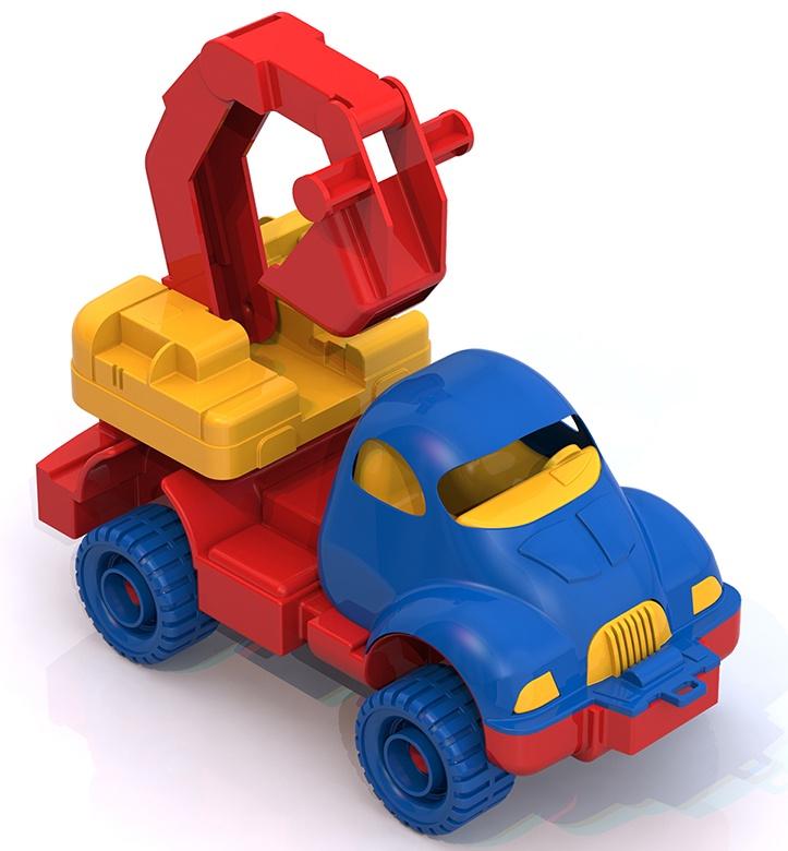 где купить Машинка-игрушка Нордпласт Экскаватор