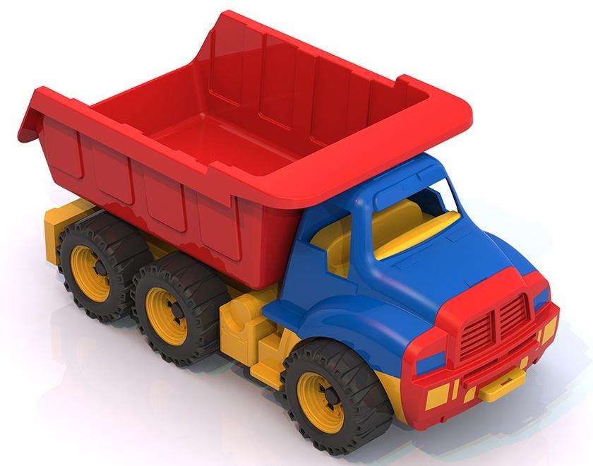 Машинка Нордпласт 066/, 066/_Синий красный, синий игрушка нордпласт топаз 066 1h