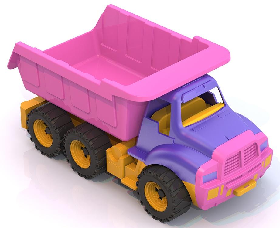 Машинка Нордпласт 066/1/, 066/1/_фиолетовый-розовый-желтый темно-розовый, фиолетовый, фуксия игрушка нордпласт топаз 066 1h