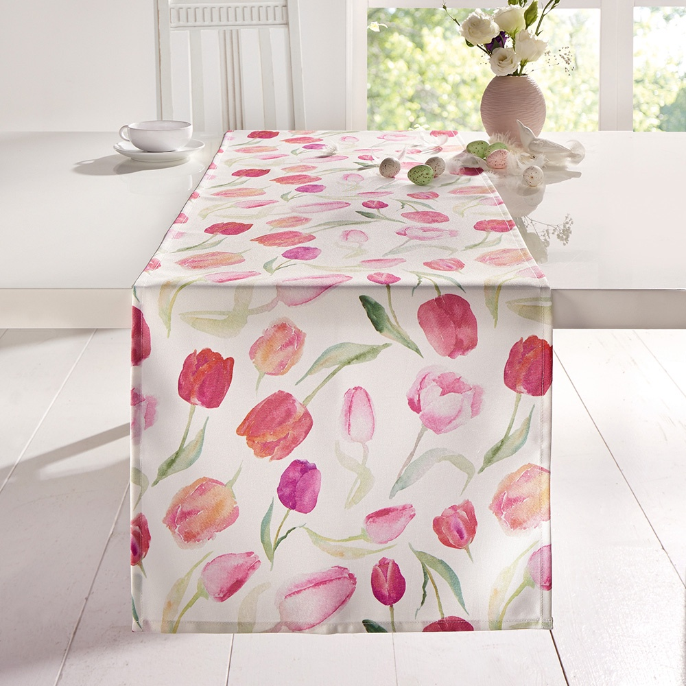 Дорожка для стола ХИТ - декор Дорожка для стола ХИТ - декор Тюльпаны, 06027, 06027