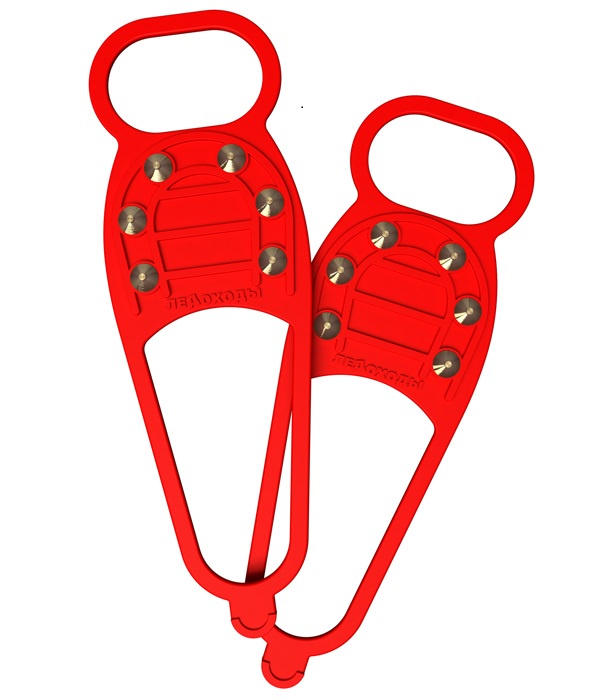 Ледоступы Wonder Life Ledox-6-СТД-КРАС, красный 35, 36, 37, 38, 39, 40, 41, 42, 43, 44, 45, 46, 47, 48 размер