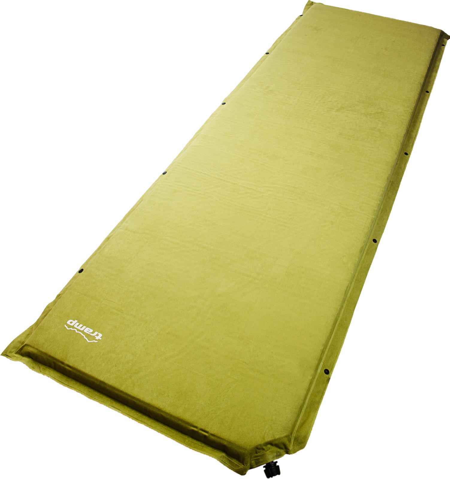 Коврик самонадувающийся Tramp Комфорт плюс, TRI-010, оливковый, 190 х 65 х 5 см коврик tramp tri 002