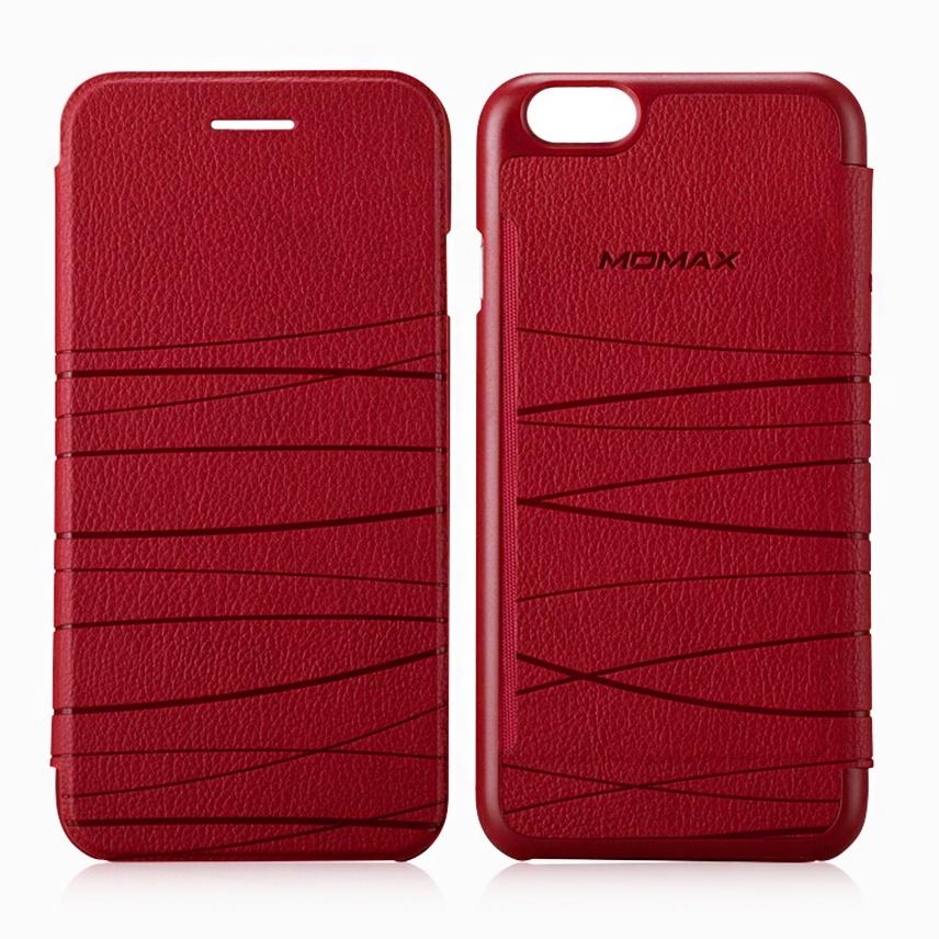 Чехол для сотового телефона Momax Flip Diary Elite для iPhone 6/6S, красный стоимость