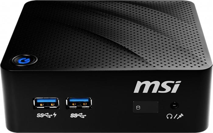 Настольный компьютер MSI Cubi N, 8GL-036RU, черный куртка мужская pierre cardinцветбордовый047 67490 3967 8152размер 54