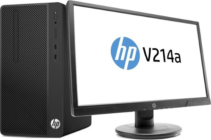 Системный блок HP 290 G2 MT, 3ZD27EA, черный цена