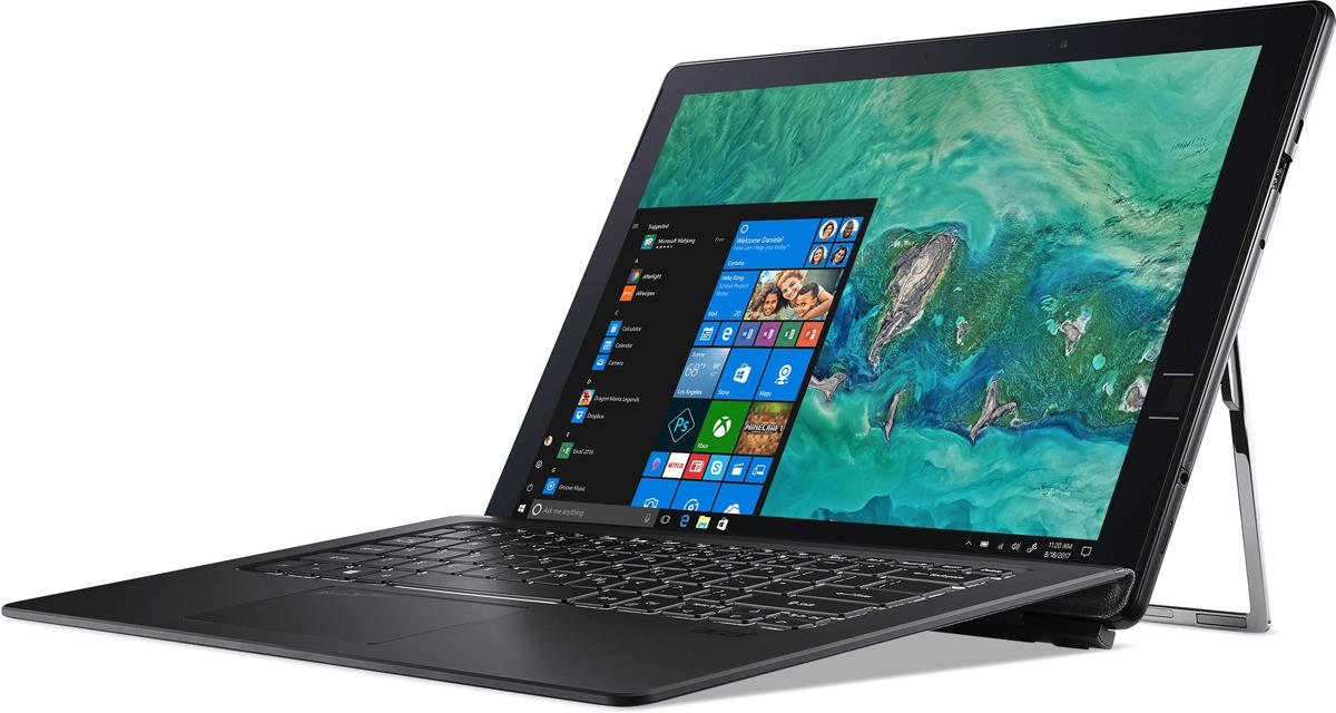 13.4 Ноутбук Acer Switch 7 SW713-51GNP NT.LEPER.002, черный планшет acer switch 7 sw713 51gnp 87t1 13 4 2256x1504 16384mb wifi windows 10 professional x64