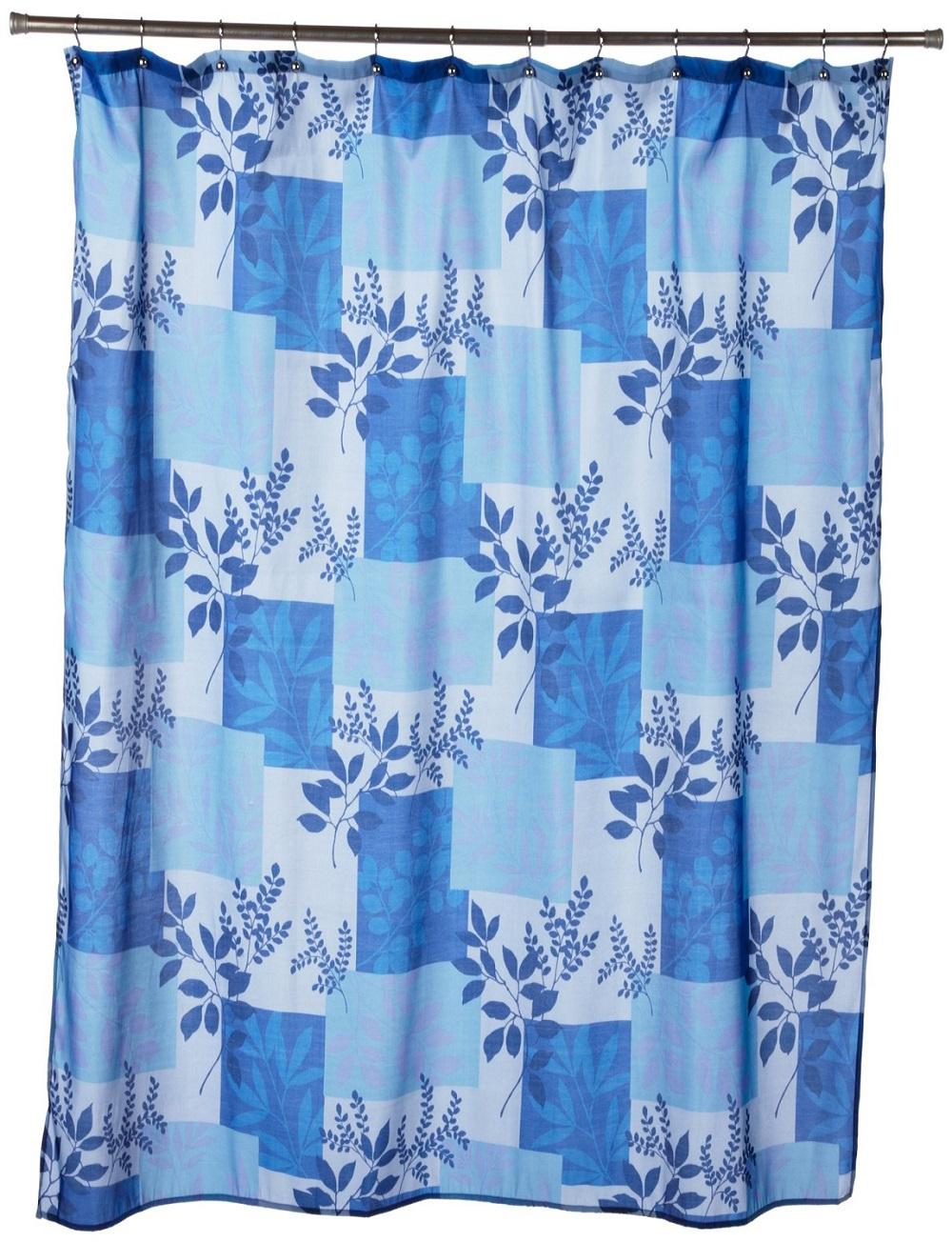 Штора для ванной Carnation Home Fashions Laura, FSC-LAR/01, синий, голубойFSC-LAR/01Стильная шторка c классическим рисунком привнесет в Вашу ванную комнату атмосферу романтики, изысканности и роскоши.
