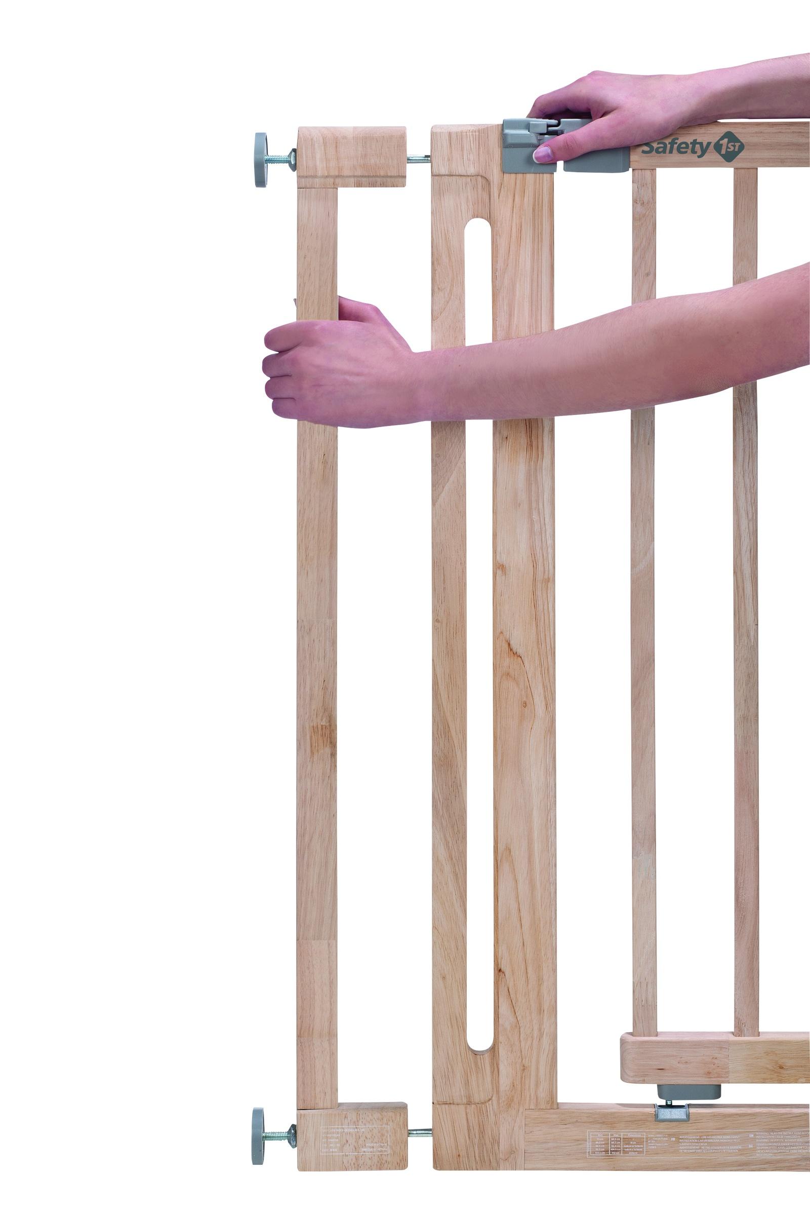 Дополнительная секция Safety 1st EASY CLOSE WOOD 8 см, 24940100, 24940100 ворота безопасности hauck wood lock safely gate silver