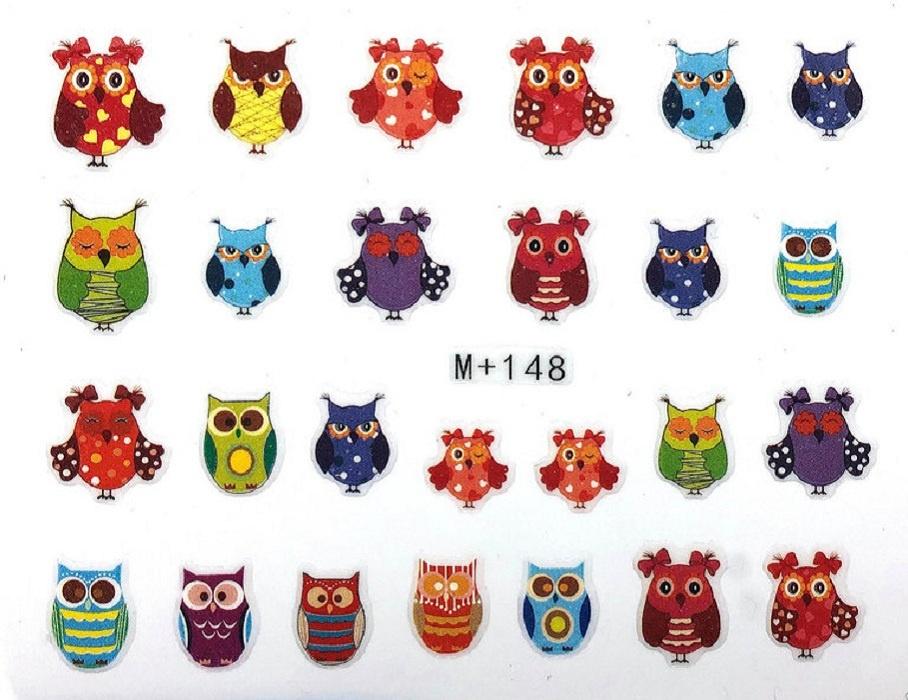 Фото - Наклейки для ногтей Совы Вид 2 Липляндя наклейки для дизайна объемные dp227