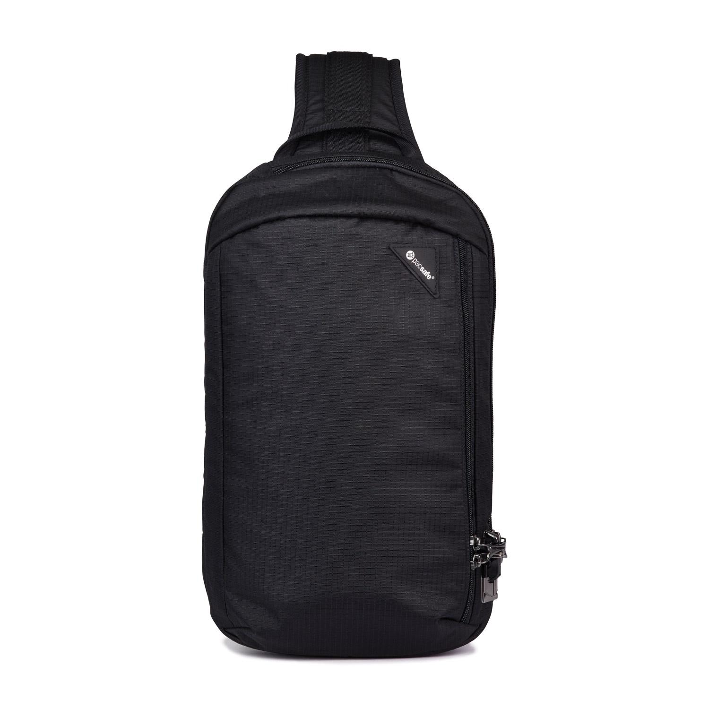 Сумка кросс-боди Pacsafe Vibe 325 sling, черная смола, 10 л., черный цена