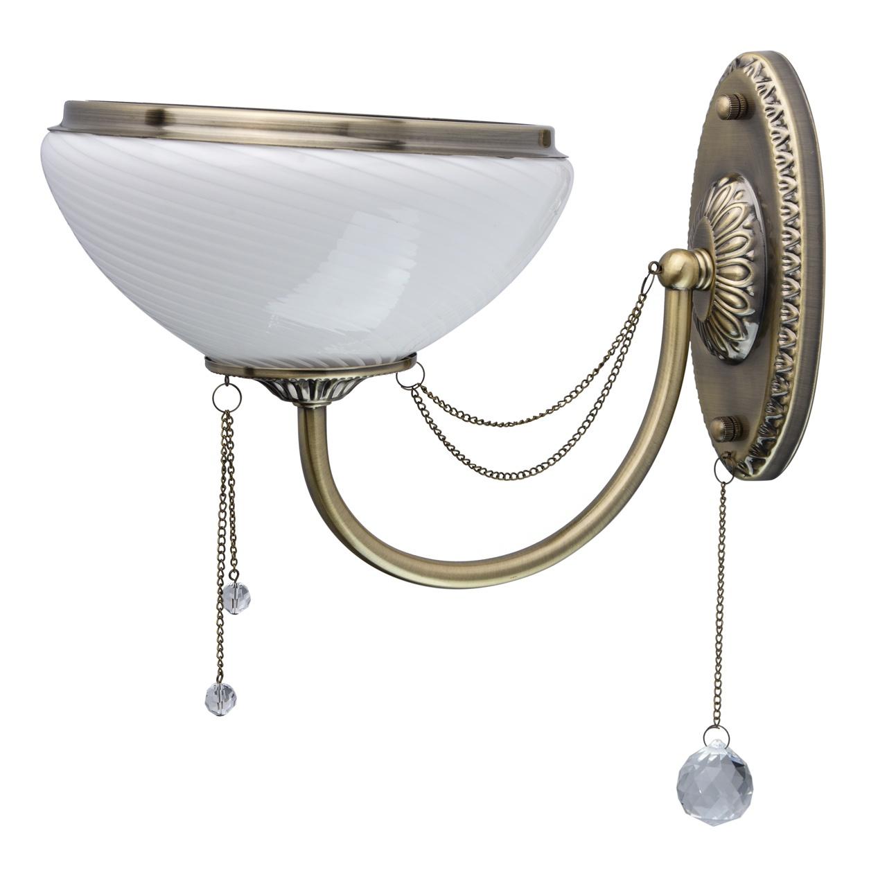 Настенный светильник MW Фелиция, 347028801, бронза бра mw light фелиция 347028801