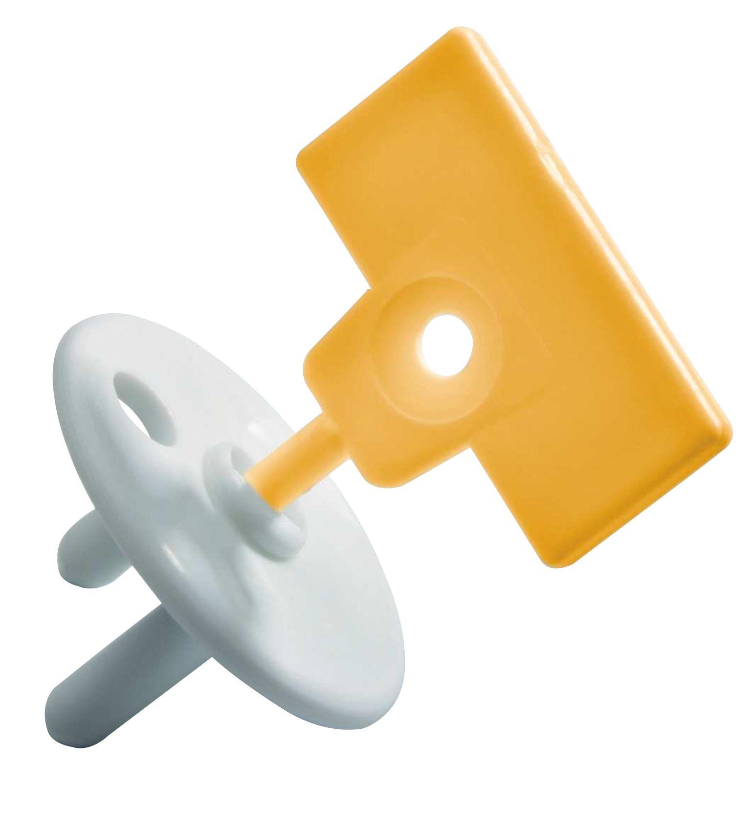 Заглушка для розеток Safety 1st Заглушка для розетки с ключом (12 шт.) 3202002000, Полипропилен