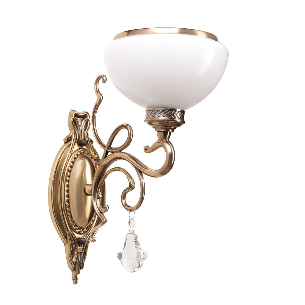 Настенный светильник MW Аманда, 481020401, бронза недорго, оригинальная цена