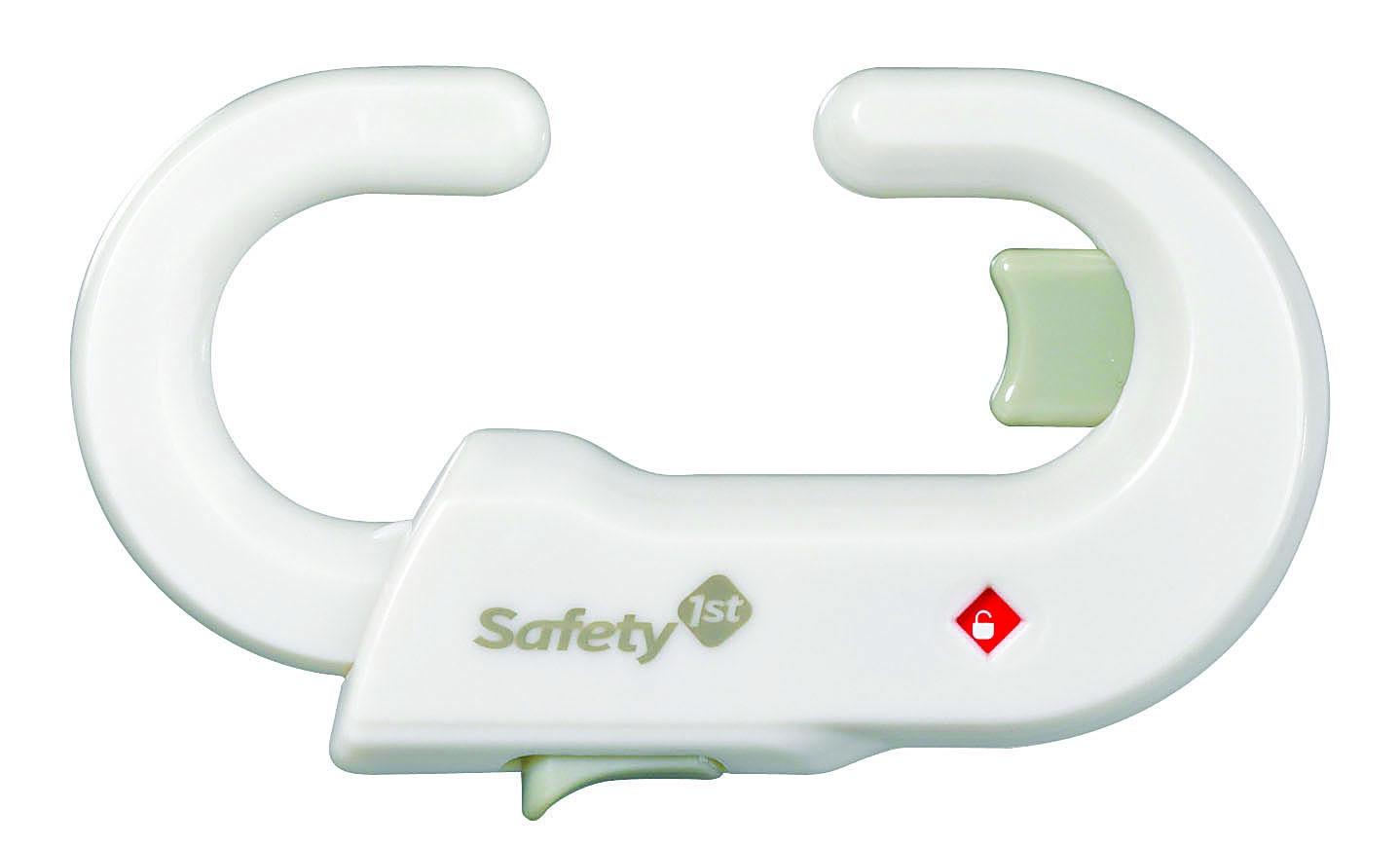 Блокиратор дверей/ящиков Safety 1st Блокиратор дверей/ящиков Safety 1st, 39094760, 39094760, белый baby safety фиксатор для дверей яблочко