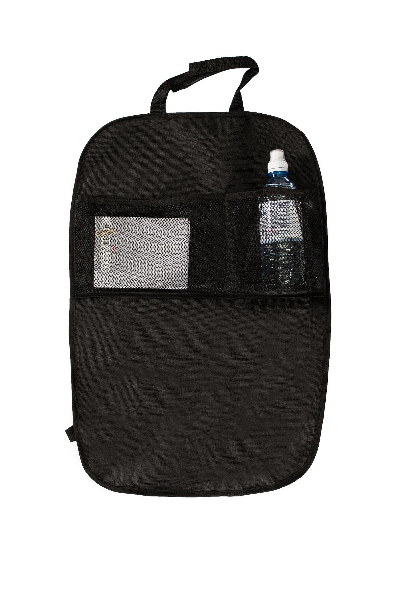 Органайзер автомобильный AvtoTink чехол два кармана 74010, 74010, черный органайзер на спинку переднего сидения с откидным столиком черный airline ao bs 02