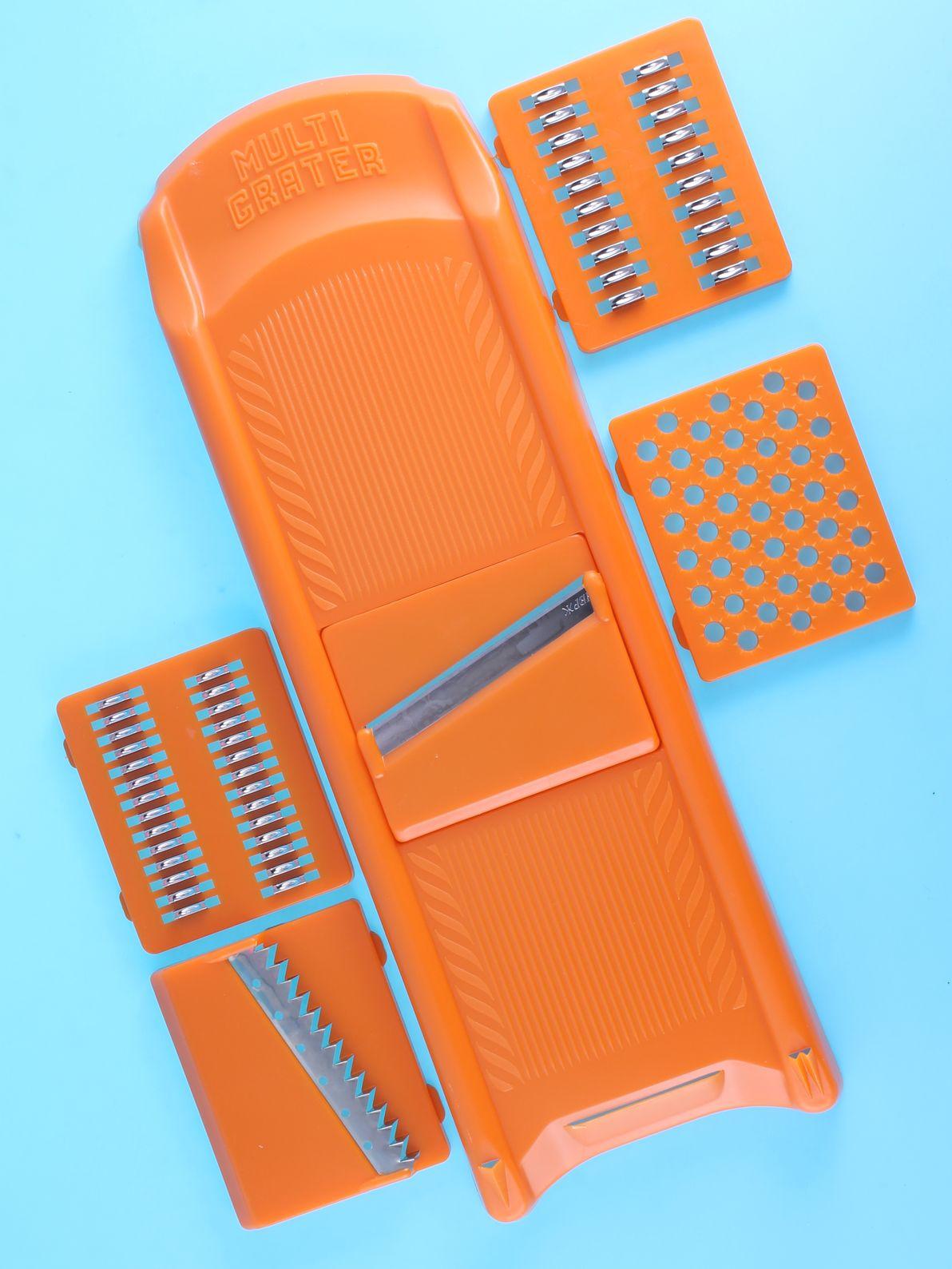 Фрукто-овощерезка Выручалочка Овощерезка, 7426845739593, оранжевый