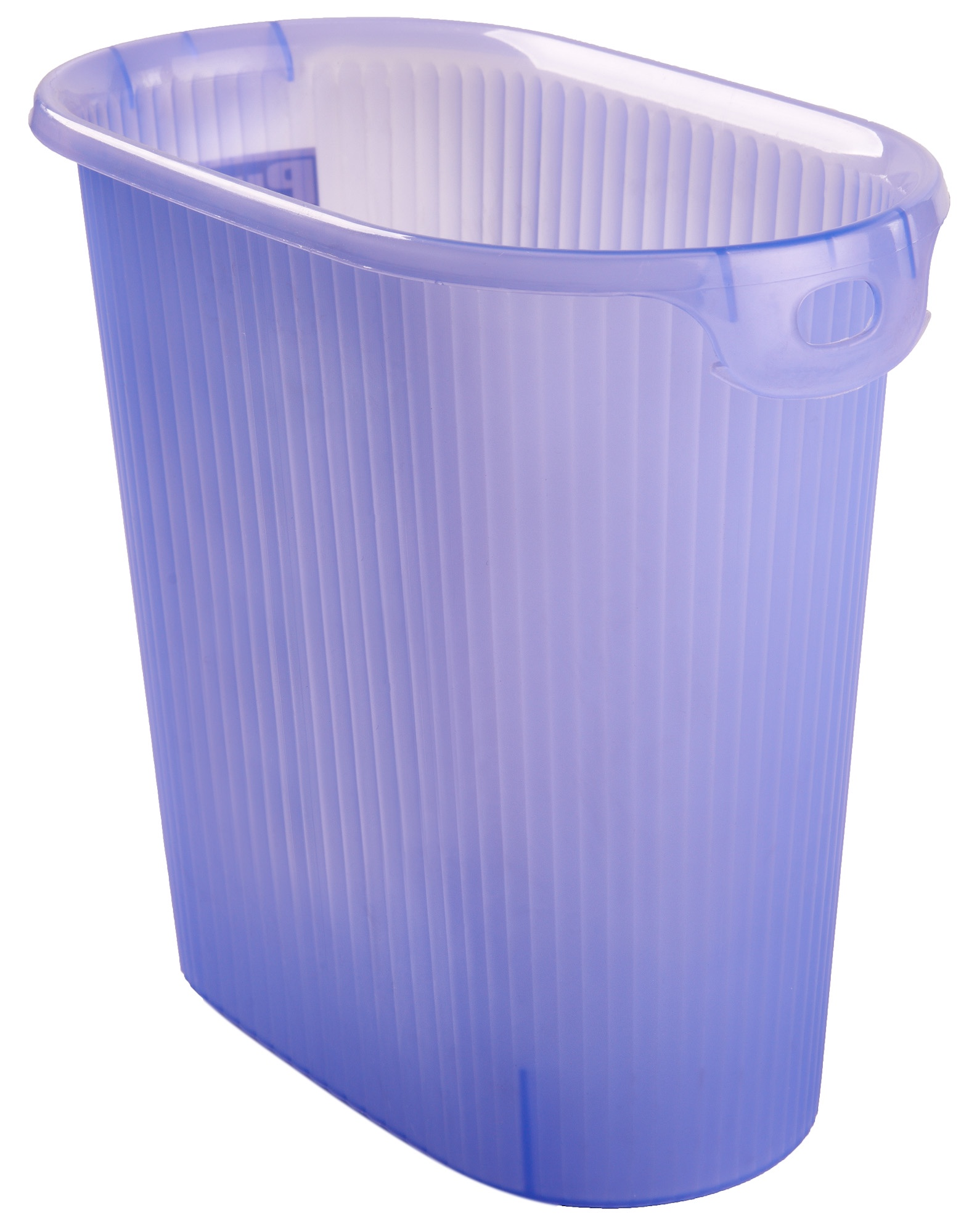 Корзина для бумаг YAMADA 336, голубой цена