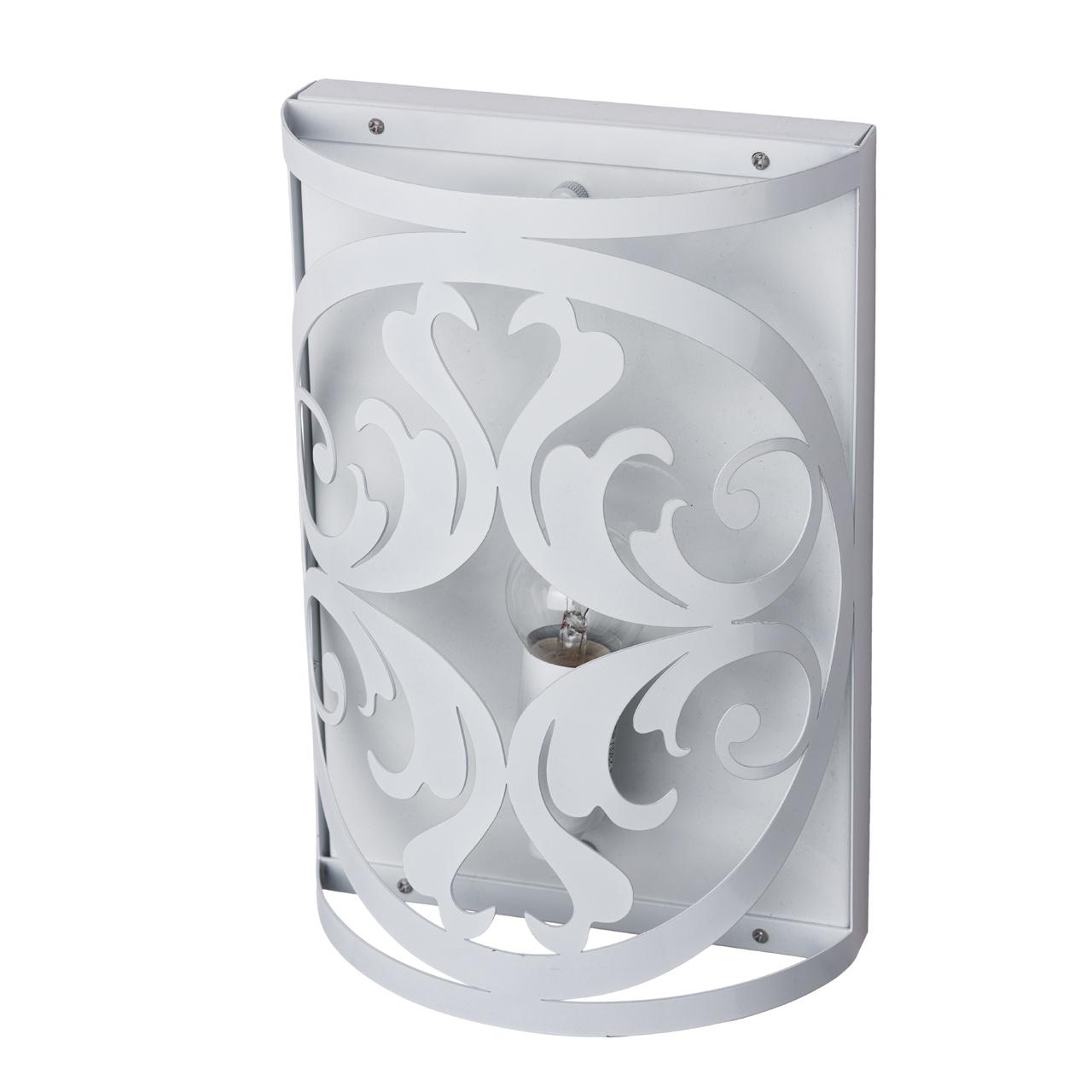 Настенный светильник MW Замок, 249026501, белый цена