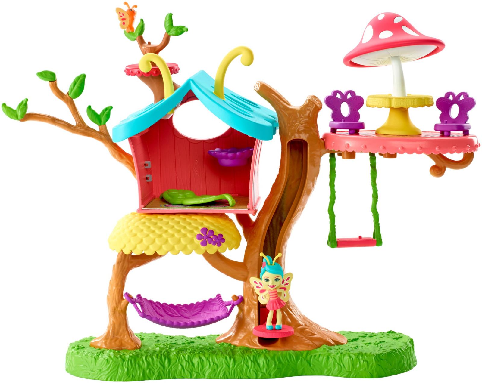 Игровой набор с куклой Enchantimals Домик бабочек, GBX08 enchantimals игровой набор с куклой sage scunk