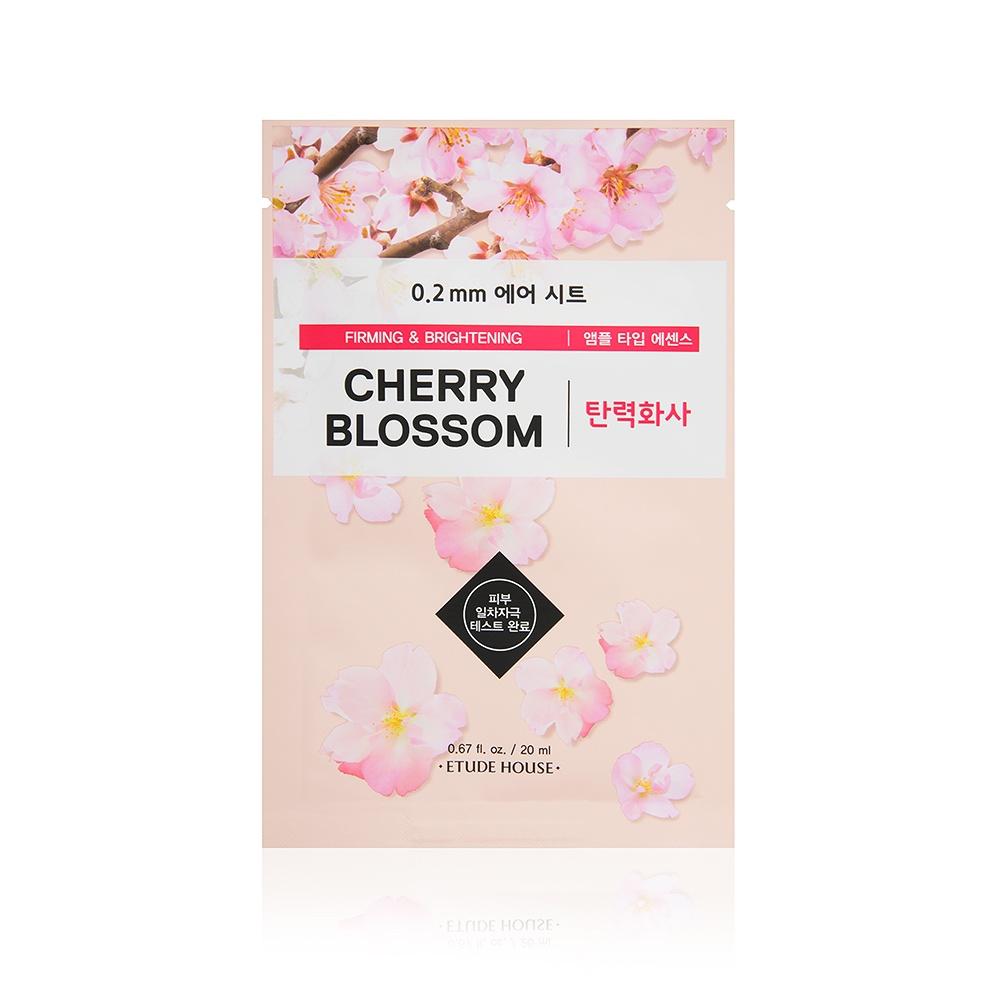 купить Маска косметическая Etude House Осветляющая маска для лица с экстрактом цветов вишни 0.2 Therapy Air Mask Cherry Blossom, 20 мл онлайн