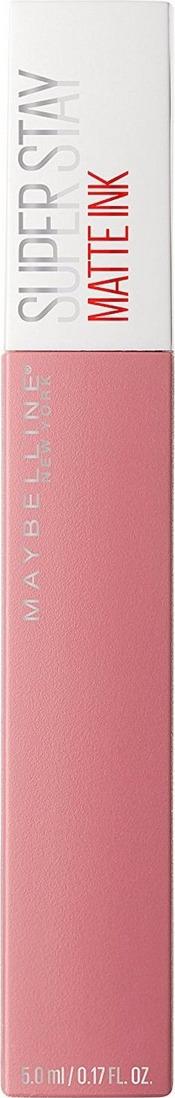 Maybelline New York Суперстойкая жидкая матовая помада для губ Super Stay Matte Ink, оттенок 10, Мечтатель, 5 мл цена