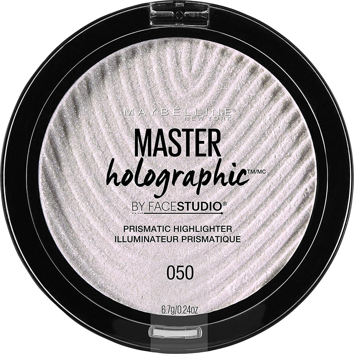 Maybelline New York Хайлайтер для лица Master Holographic Prismatic, для сияния кожи, оттенок Универсальный, 6,7 г maybelline master holographic