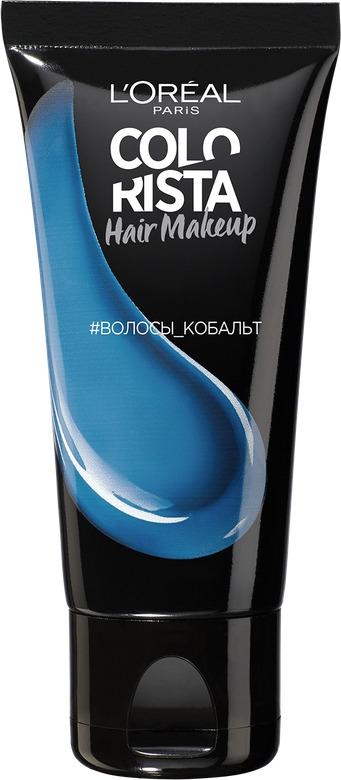LOreal ParisКрасящее желе для волос Colorista Hair Make Up оттенок Кобальт Волосы 30 мл